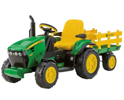 PEG PEREGO JOHN DEERE GROUND FORCE traktor 12V