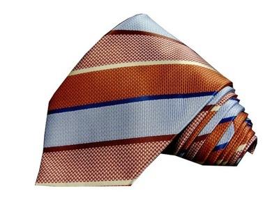 AAK45 Elegancki krawat męski MORGAN