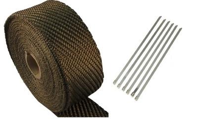 Bazaltowy повязку termoizolacyjny ТУРБО 20м +повязки