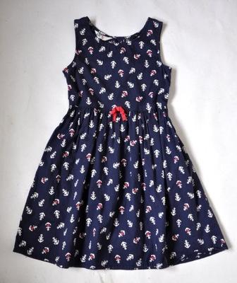 104af1f78a1dc2 H&M Sukienka 6-7lat 122cm NEONOWA NOWA - 7032713272 - oficjalne ...