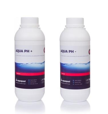 SÚPRAVA 1L AQUA pH+ PLUS + 1L AQUA pH MÍNUS NOVÉ