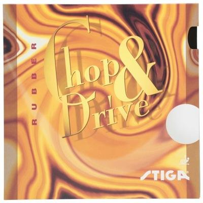 Okładzina STIGA CHOP & DRIVE 1,5 czerwona