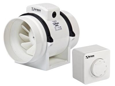 Ventilátor - Kanálový ventilátor ML 200/950 976 m3 / h + REGULÁTOR