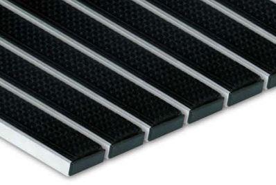 Hliníková podložka podporu Topánka priestoru, 80x60 cm