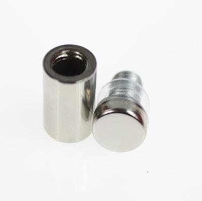 Dystanse montażowe małe 12/25 chrom do plexi,szkła