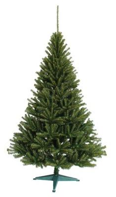 Vianočné stromčeky - STROM FAUX ŠKANDINÁVSKYCH JEDĽA 120 CM STOJAN