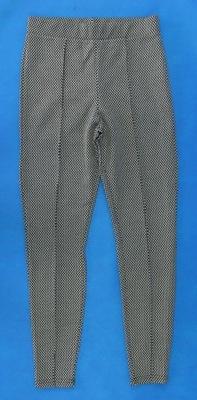 1619e5a0 D16 Czarne Spodnie tall we wzór S 36