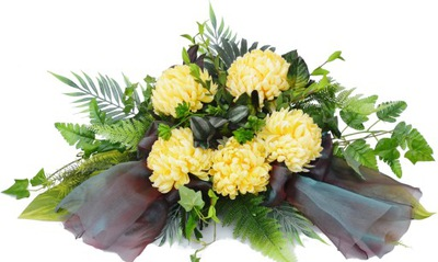 VEĽKÉ kytice, dekorácie, kvety usporiadanie v cintoríne