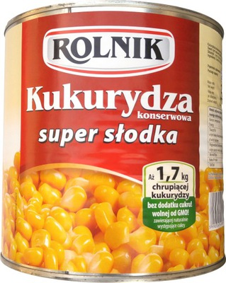 Фермер кукуруза супер сладкая консервированная 1 ,775kg