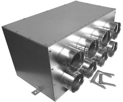 Potrubie, rúra, spona - 160 / 8x75 GREENFLEX cez krabicu + kotúč