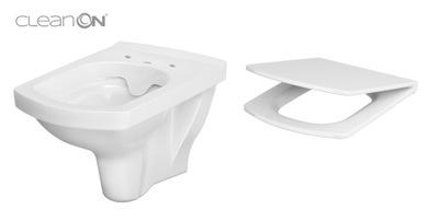 WC misa - CERSANIT HANGING EASY CLEAN ON + BOARD SLOW