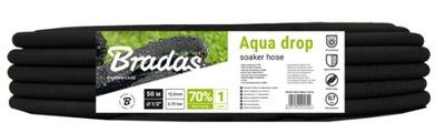 Hadica kroplujący pocący vody aqua 50 m drop