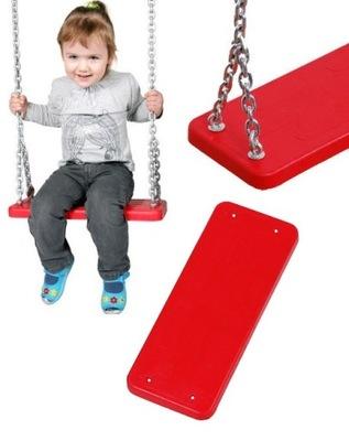 Hojdačka pre deti - Otočte sedačku kovovou vložkou na reťaz