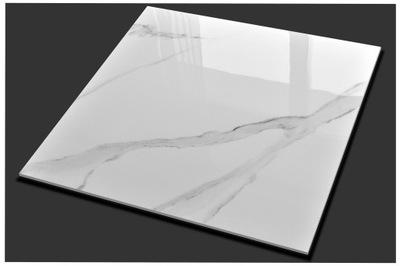 плитки Плитка керамогранит Белый Мрамор 80X80 CERAL