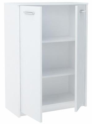 Комод тумба БОДО 2D2P белая стеллаж офисный шкаф