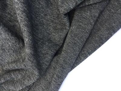 Трикотаж польский  вискоза Графит меланж 190 г 160 см
