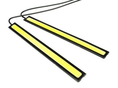 Дневные ходовые огни LED COB 160-8W чип 17см панель, фото