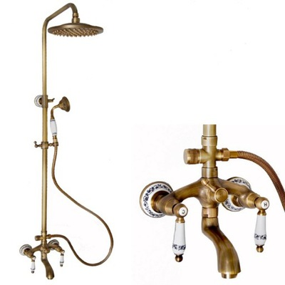 Sprcha - SPRCHOVÝ SET S RETRO WETER S-0124