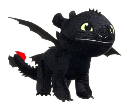 Ako vycvičiť draka Bezzubej Night Fury 88 cm