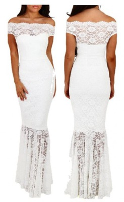4551868b8d Długa koktajlowa wieczorowa sukienka 61481 S 36