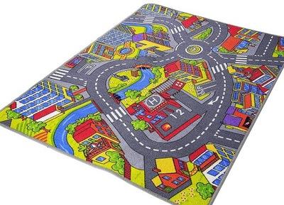 Koberec do detskej izby - Detský koberec 200x300 2 x 3 farby koberčekov