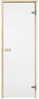 двери для сауну 69x189 бесцветные 7x19 Осина САУНА