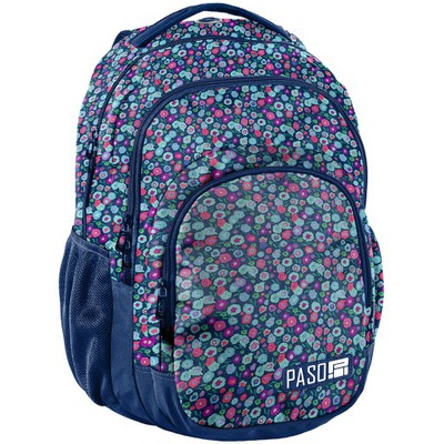 Školká taška, batoh, ruksak - ŠKOLSKÁ BATOHORSKÁ ŠKOLA V KVETÁCH