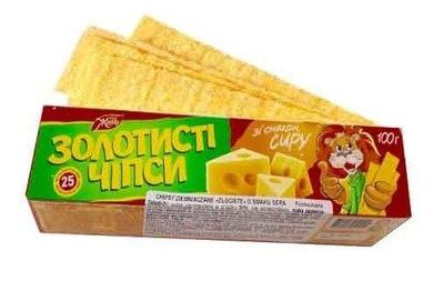чипсы пластыри вкус Сыр 100г