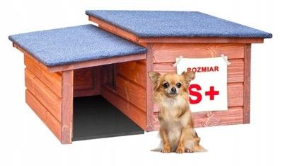 буде деревянная утепленная домик для кота СОБАКА года. S +