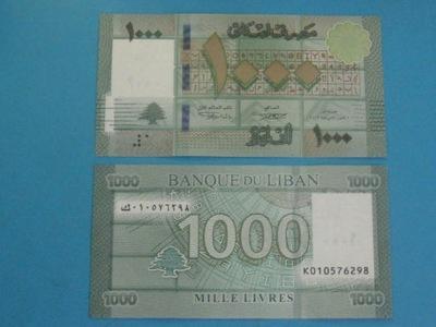 Ливан Банкнота 1000 Livres P-90 UNC 2016
