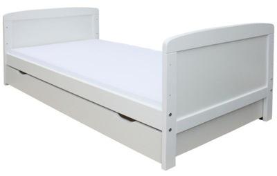 Łóżko 160x70 2w1 TAPCZANIK białe SZUFLADA MATERAC