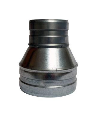 Zníženie 150/125 hadice kapota spiro ventilátor