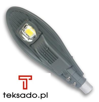 Pouličná lampa Lampa LED Pouličné LED svetlo 50 W/230 V, stupeň ochrany IP65 svetelný senzor