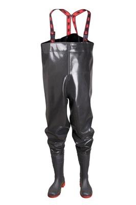 Mocne Spodniobuty Wodery PROS SB01 Strong Czarne44
