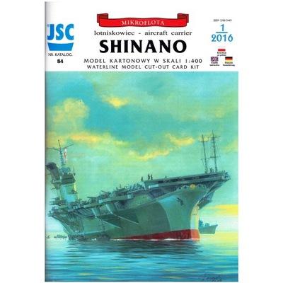 JSC-084 - Japonski lotniskowiec SHINANO 1:400