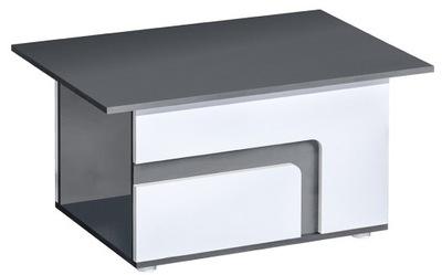 мебель APETITO Бис 18 маленькая белая +Серый скамья столик