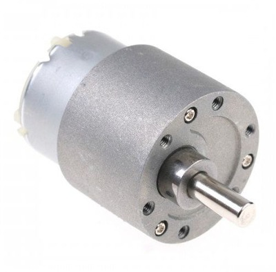 Mini silnik 12V z przekładnią 8,5 obr/min. MT100