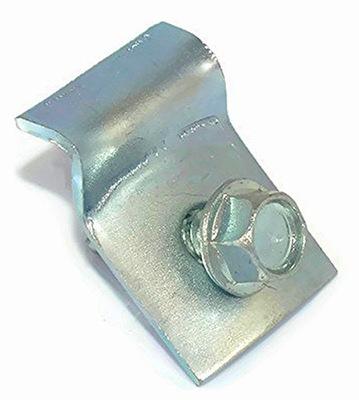 Проушина металлическая опора для проволоки, сетки, стойки -100 штук
