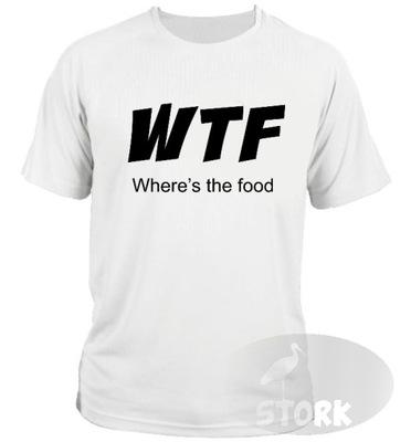 koszulka t-shirt WTF hell's kitchen dla kucharza