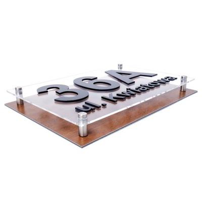 Znamenie adresu Pole STROM 3D 40x30 D