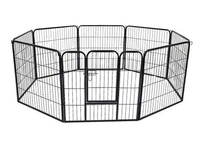 металлический манеж Воспитание клетка для Собаки 8el. 80см