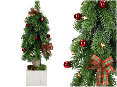 Vianočné stromčeky MINI STROM UMELÉ VIANOČNÉ JEDĽA 47 cm S18