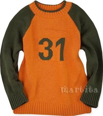 Okazja sweter sweterek na prezent 110 cm 4-5 lat