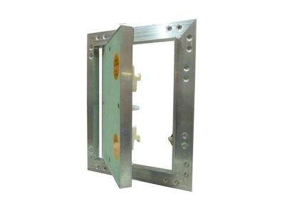 Revízne dvierka - Dvere audit KRAL6 hliníkové dosky K-G 25x30cm