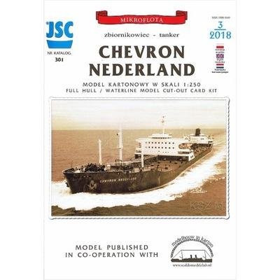 JSC-301 - zbiornikowiec CHEVRON NEDERLAND 1:250