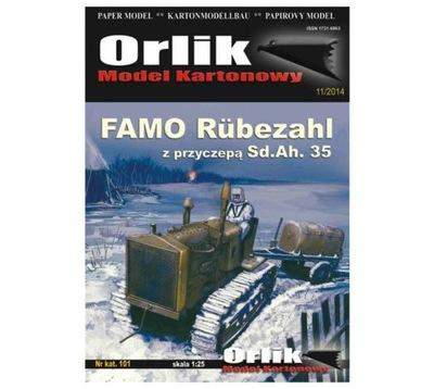Орлик 101 Famo Rubezahl с прицепом Sd.Ах. 35 1 :25
