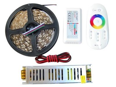 NASTAVTE Pás 300 LED, 5m RGBW TEPLÁ Biela 5050 SLI
