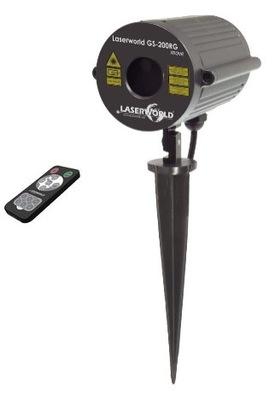Laser Laserworld GS-200RG presunúť IP67 Záhrada