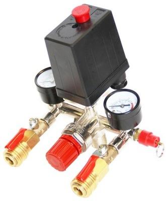 РЕЛЕ давления редуктор компрессора с клапанами Выключатель