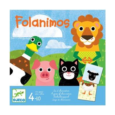 Kartová hra - DJECO Hra FOLANIMOS - skvelá zábava - od VENCO_pl